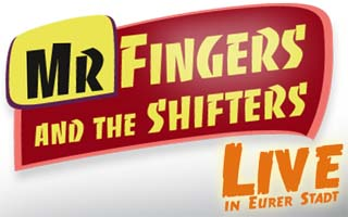 Das Logo von Mr.Fingers & The Shifters